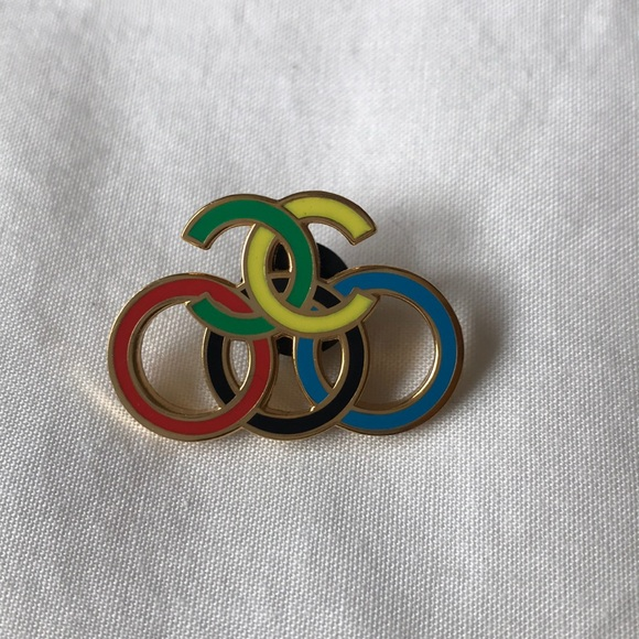 pintrill Accessories - PINTRILL Chanel x 2016 Olympics pin